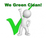 We Green Clean Logo