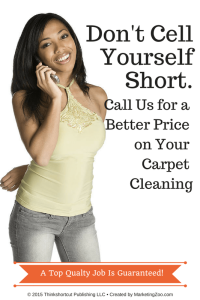 call us: Don't sell yourself short!